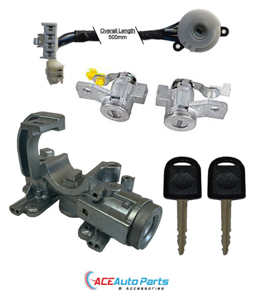 Ignition Barrel Housing Switch + Door Locks For Holden Rodeo RA
