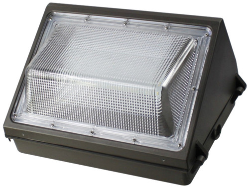 Wall Pack LED 45W 5000K Cool White Weatherproof For Outdoor, Area and Security Lighting