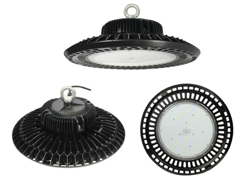150W High Bay UFO Style LED Light 5000K Cool White 90 Degree Beam Angle