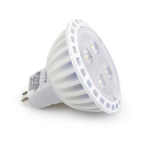 LED MR16 12V 3000K Warm White Dimmable 4 LEDs Acrylic Lens 40 Degree