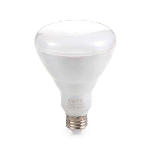 LED Light Bulb 8.5 Watt BR30 Size 3000K Warm White