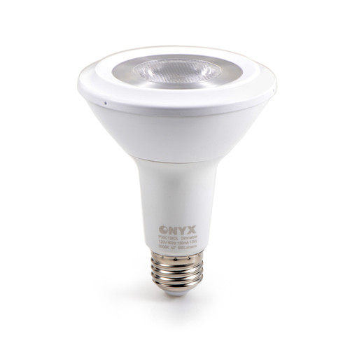 LED Energy Efficient PAR30 Long Neck 13w - 75w Equivalent Dimmable 3000K Warm White 40 Degree