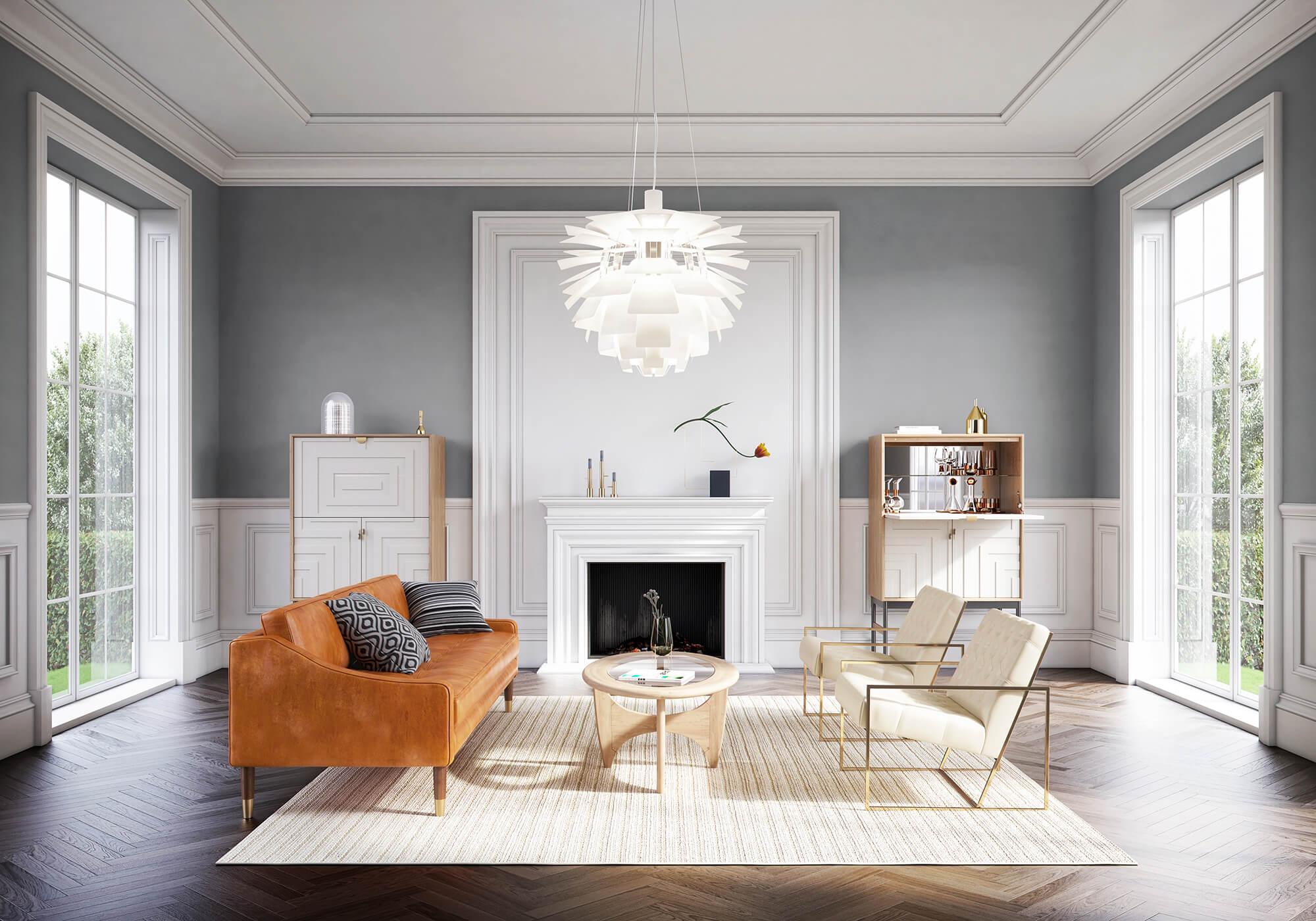 Brando 3 Lawson 1 Urbane Living Room Lounge Chair