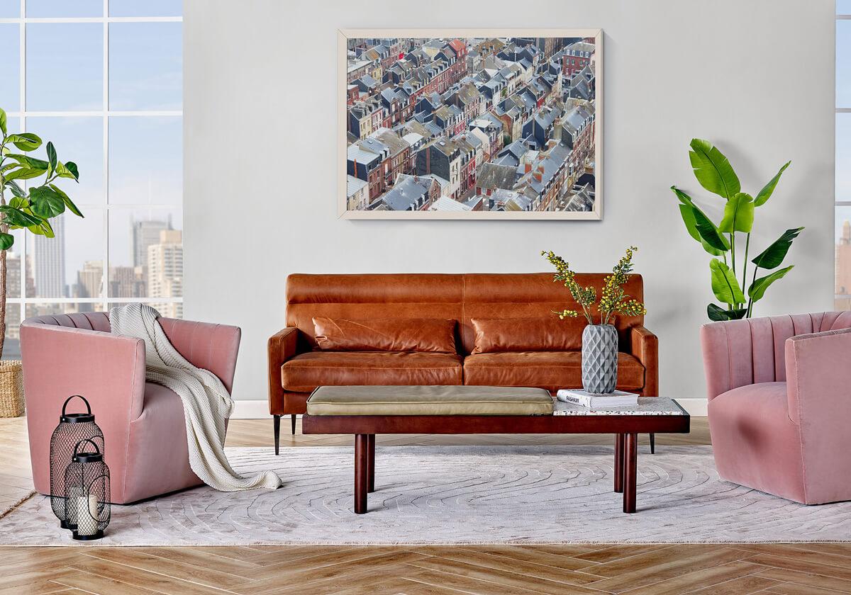 Churchill 3 Tubby Teraz Luxury Sofa