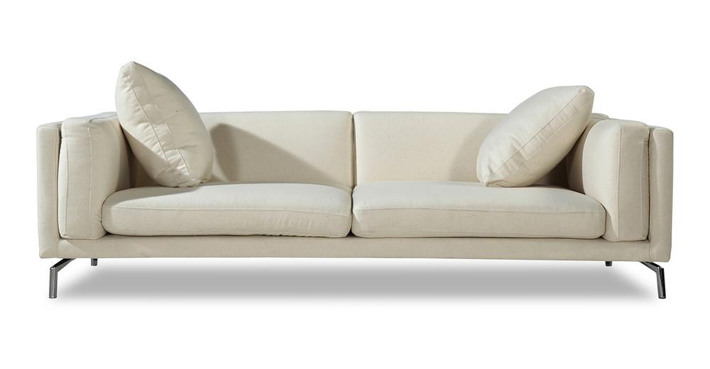 Basil Loft Sofa, White Peacoat