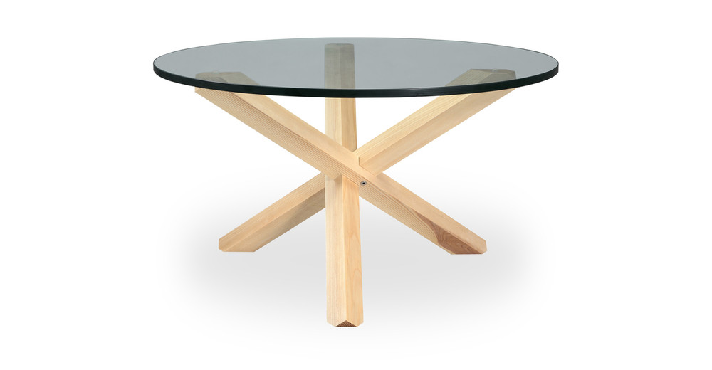 Tripod Coffee Table Natural
