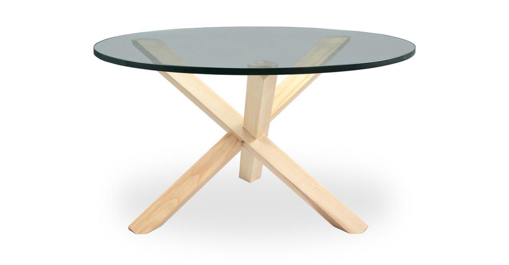 Tripod Coffee Table Natural
