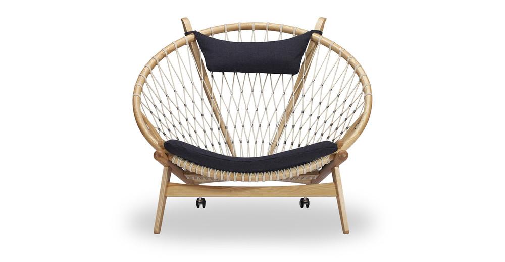Circle Hoop Chair, Urban Ink/Ash