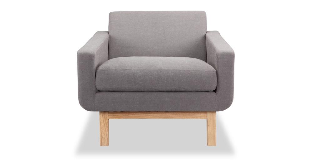 Platform Chair, Haze Pewter/Ash