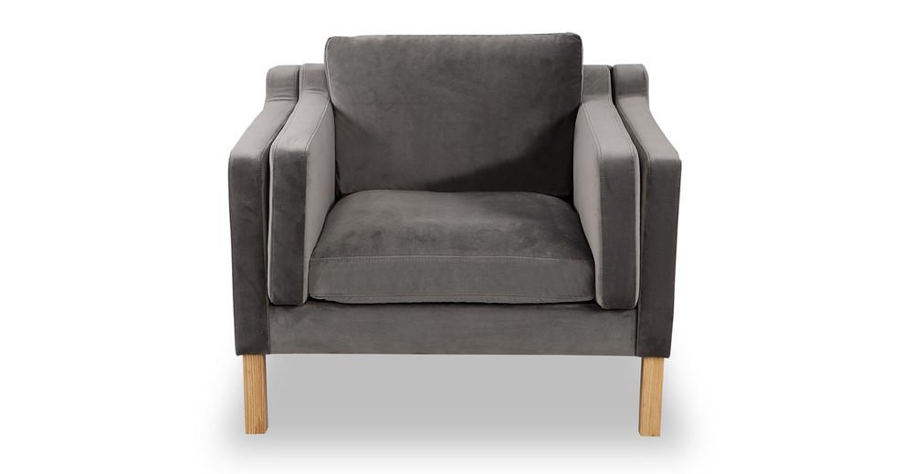 Monroe Chair, Intuit Velvet