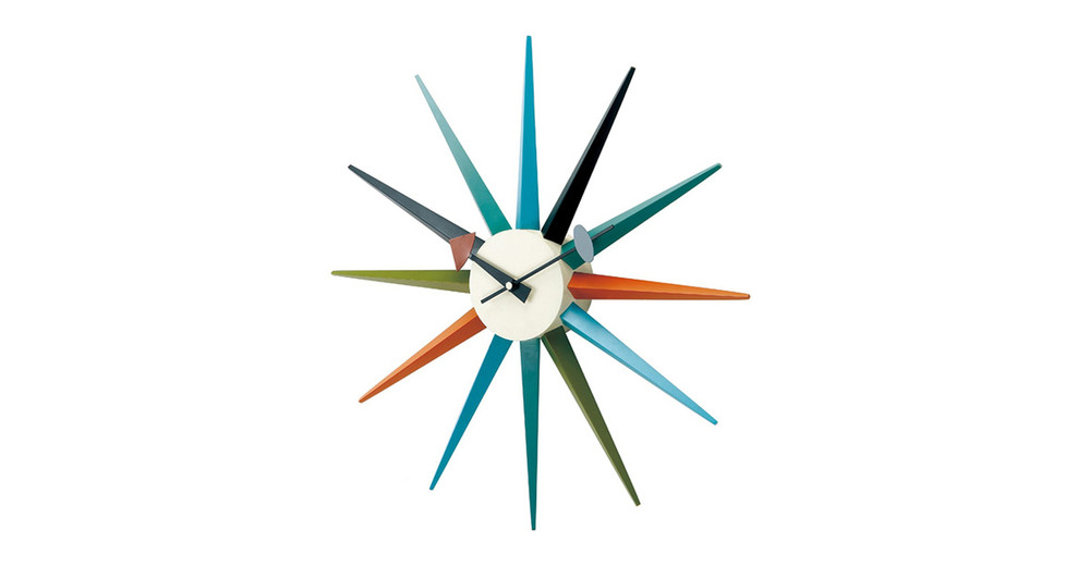 d028ea35c84c ... George Nelson Sunburst Clock