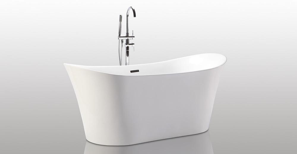 Helix bath freestanding tub