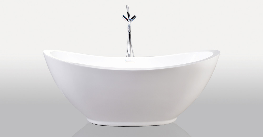 "Ephesus Bathtub 69"" Rectangle Overflow"