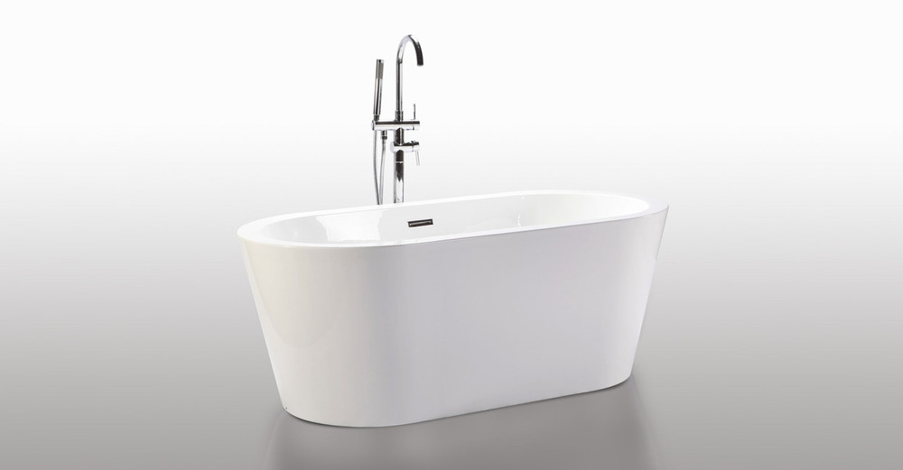 Pella freestanding designer bathtub helixbath
