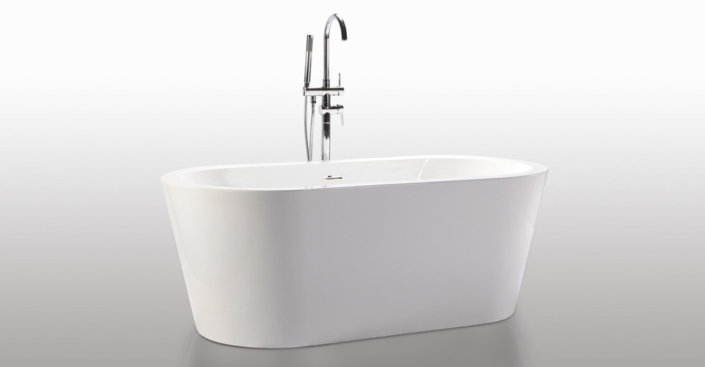 Pella freestanding designer bathtub helixbath