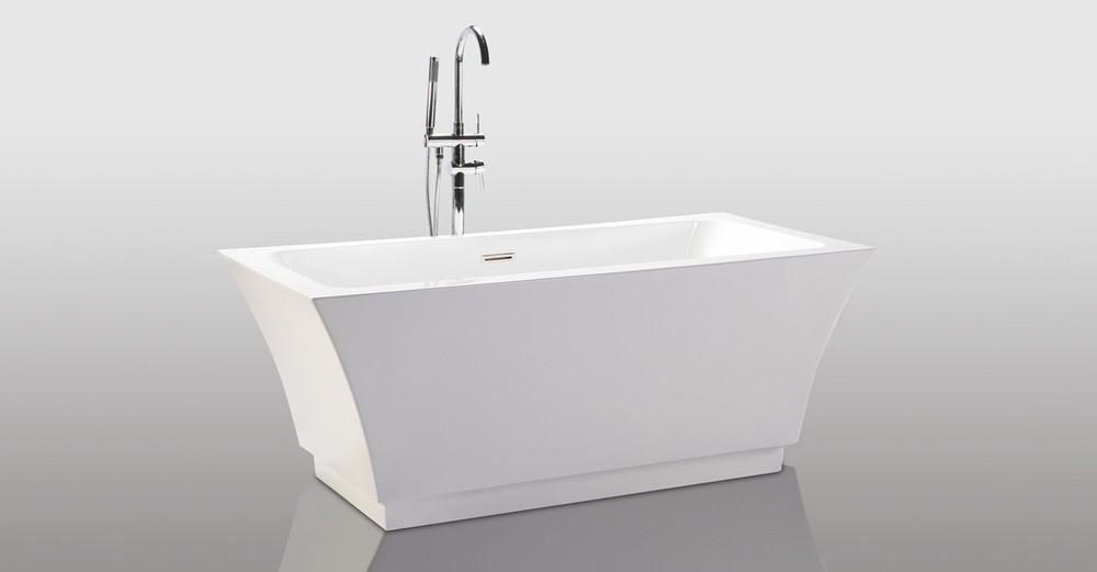 Pergamon freestanding helix bathtub