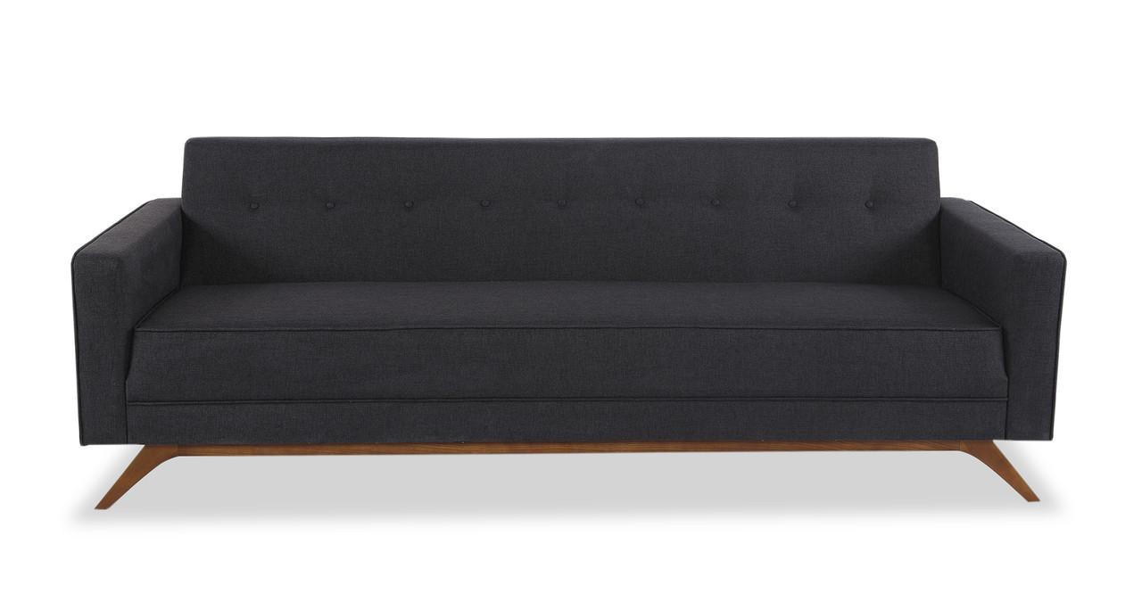 Bauhaus 90 modern fabric sofa urban ink kardiel