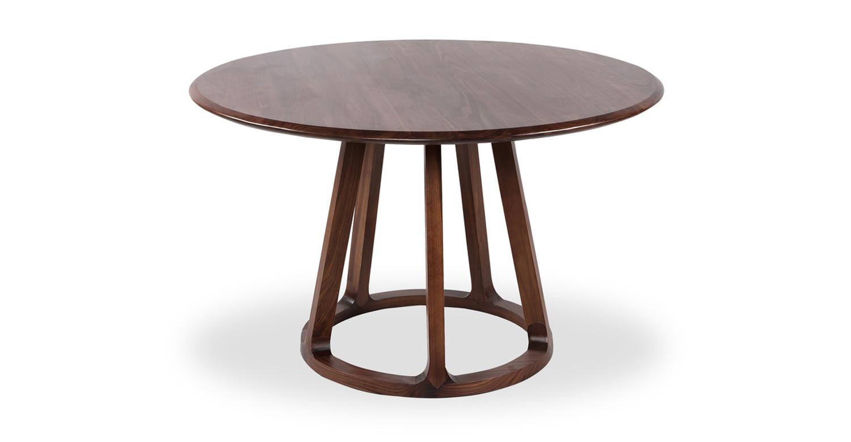 Etonnant Ballard Round Dining Table, Walnut