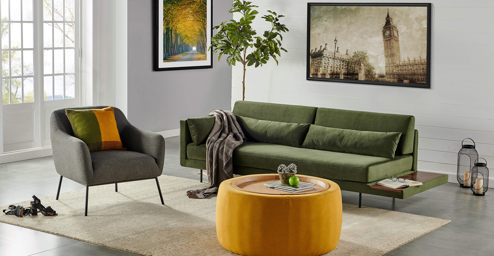 Mid Century Modern Fall Style For Your Home