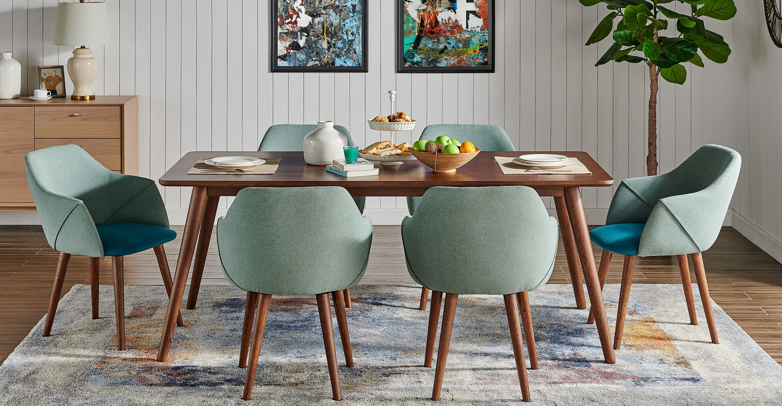What You Need for a Mid Century Dining Room