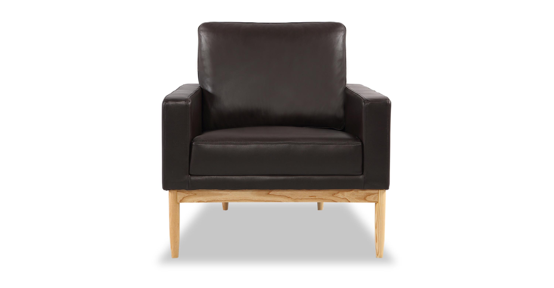 Super Stilt Danish Mod Chair Brown Aniline Leather Ash Pdpeps Interior Chair Design Pdpepsorg