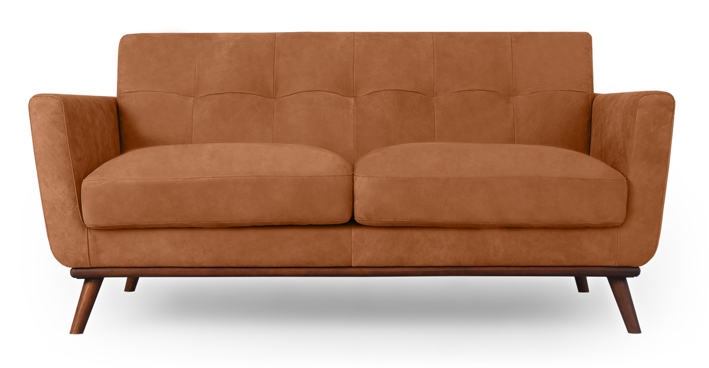 Astounding Jackie 68 Sofa Leather Cognac Full Grain Aniline Bralicious Painted Fabric Chair Ideas Braliciousco