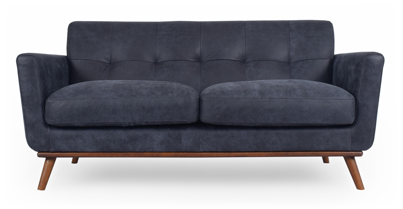Cool Jackie 68 Sofa Leather Night Full Grain Aniline Bralicious Painted Fabric Chair Ideas Braliciousco