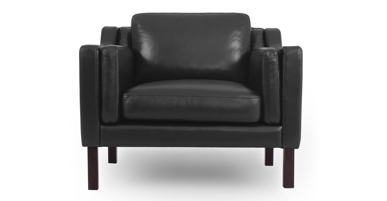 Amazing Monroe 39 Leather Chair Black Top Grain Aniline Uwap Interior Chair Design Uwaporg