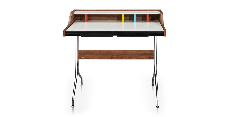 Image of: Swag 39 Leg Desk Walnut Kardiel