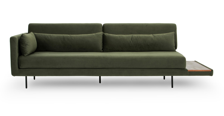 Swell Davenport 95 Sofa Sleeper Hunter Green Customarchery Wood Chair Design Ideas Customarcherynet
