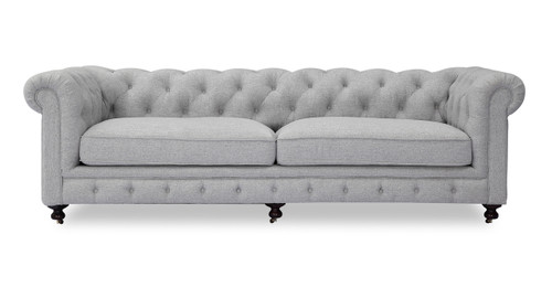Modern Chesterfield tufted furniture fabric and leather sofa ...