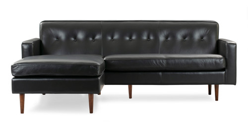 Mid Century Modern Sectional, Chaise Sofa, L shape sectional ...