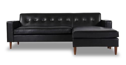 Mid Century Modern Sectional Chaise Sofa L Shape Sectional Loft