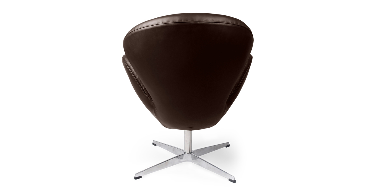 Trumpeter Chair, Choco Brown Premium Leather