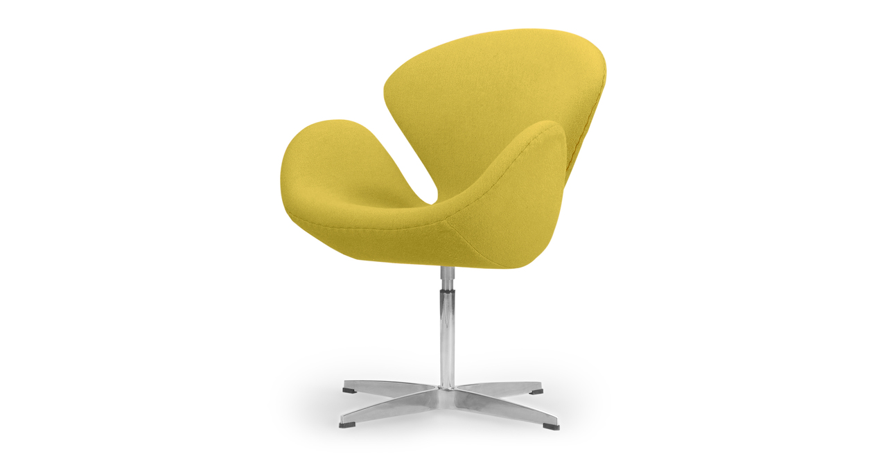 Trumpeter Chair, Dijon Cashmere