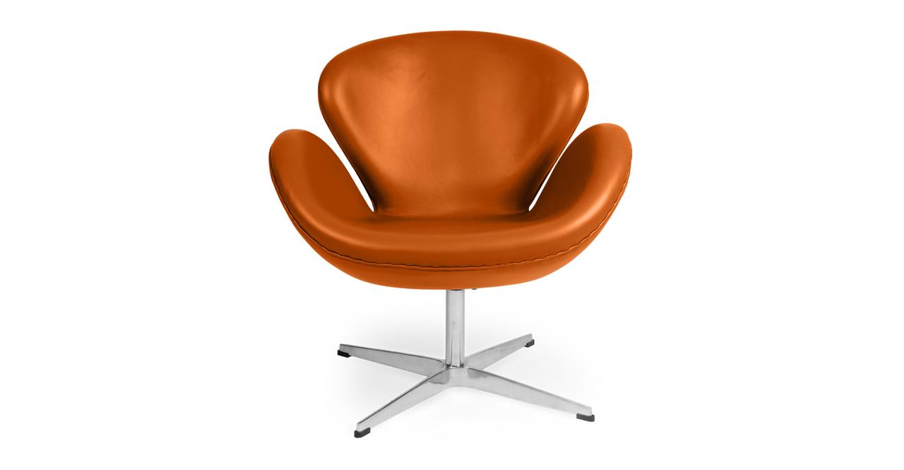 Trumpeter Chair, Caramel Premium Leather
