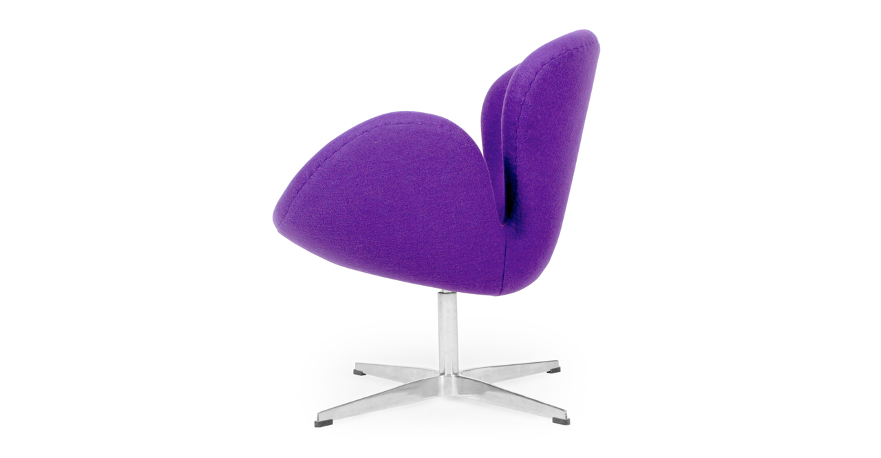 Trumpeter Chair, Purple Cashmere