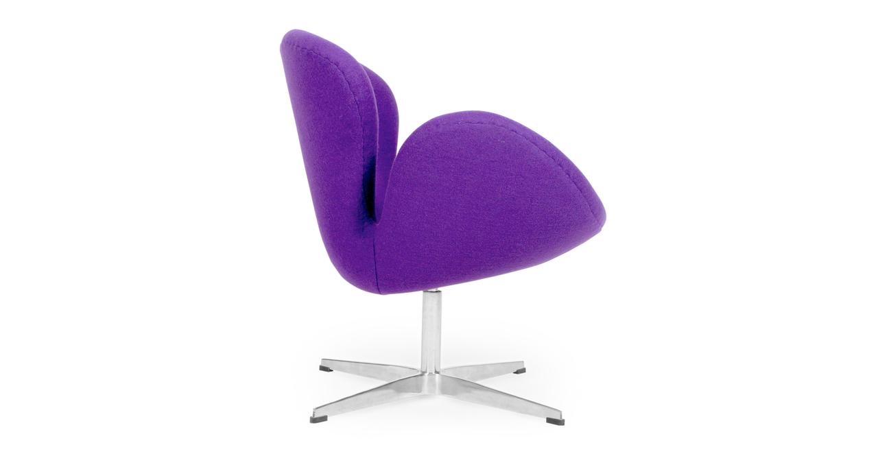 Trumpeter Chair, Purple Cashmere