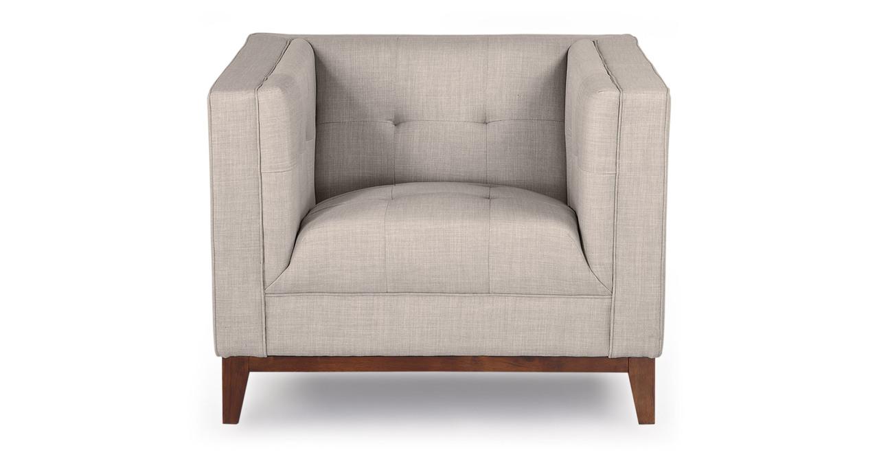 Harrison Chair, Dove Grey