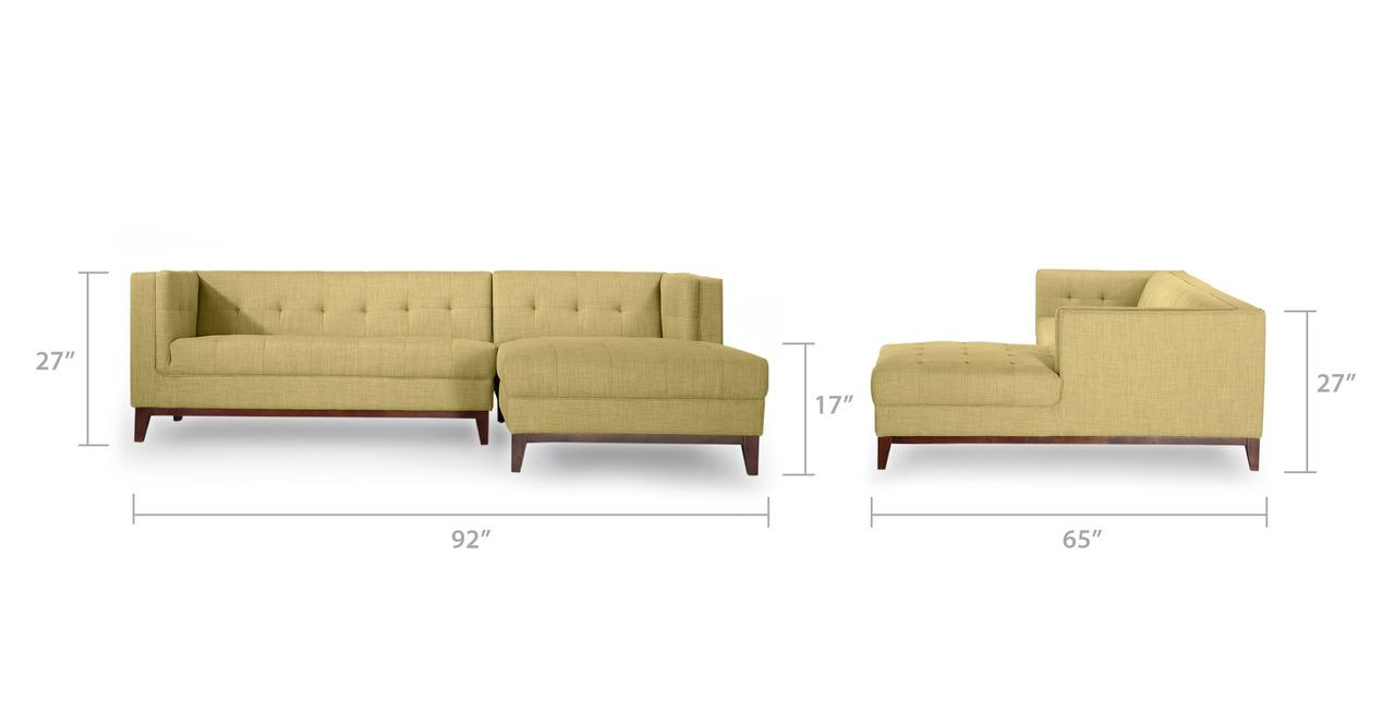 kardiel chaise sofa