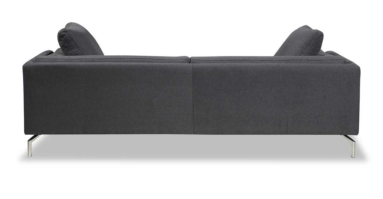 Basil Loft Sofa, Charcoal