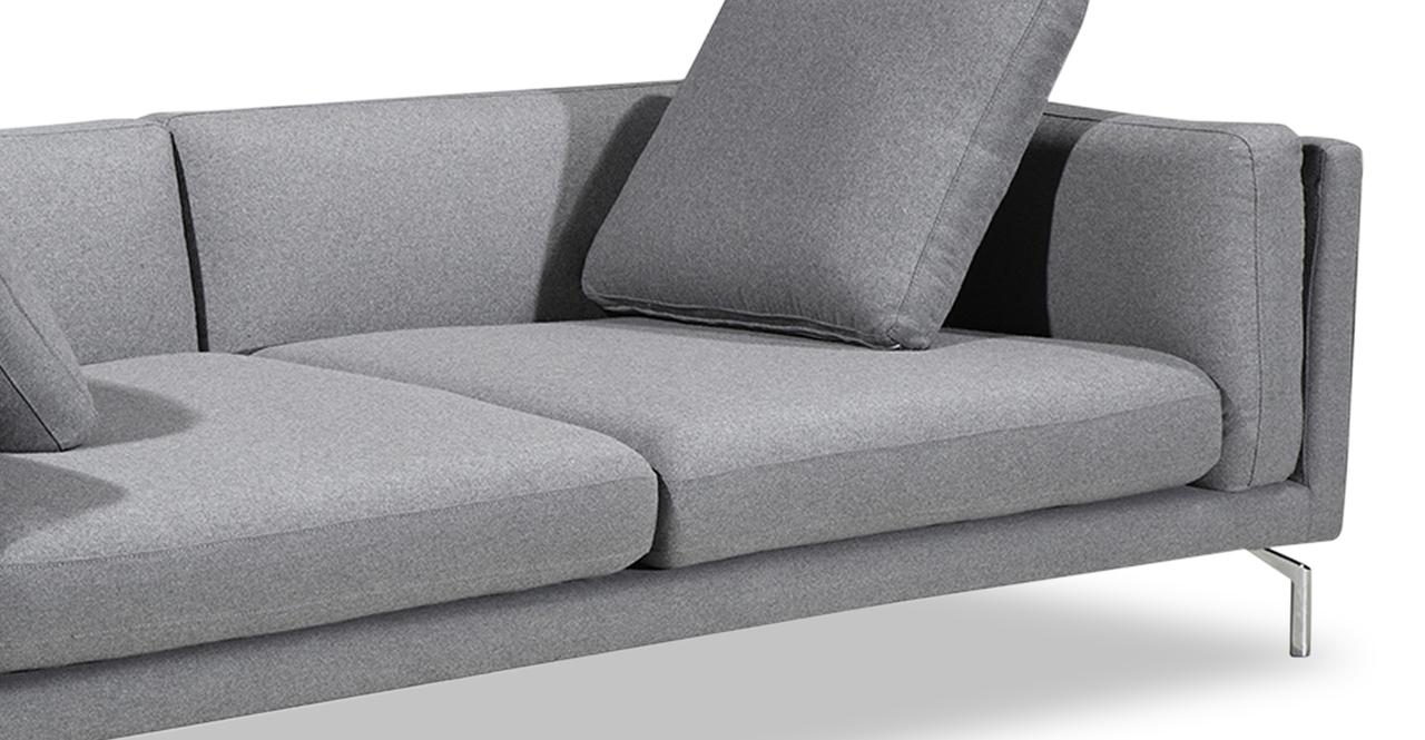 Basil Loft Sofa, Cadet Grey