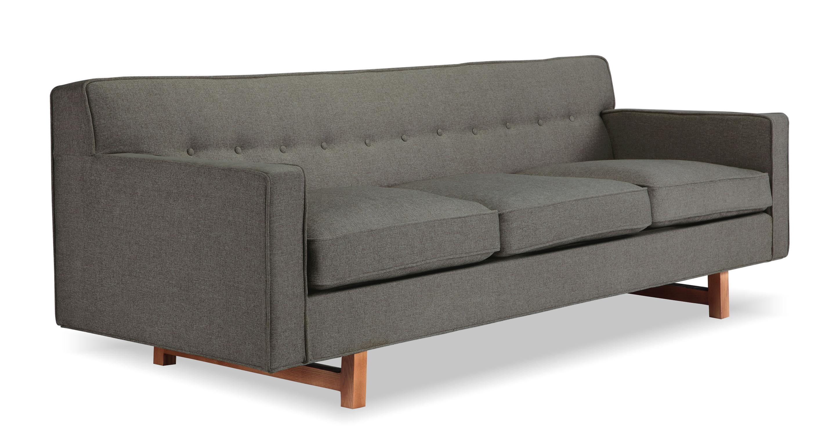 """Kennedy 86"""" Fabric Sofa, Gosford"""