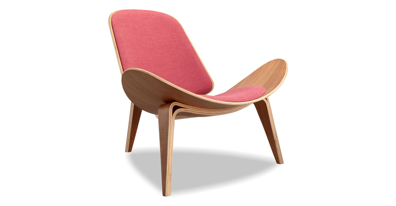 Tripod Chair, Urban Coral/Oak