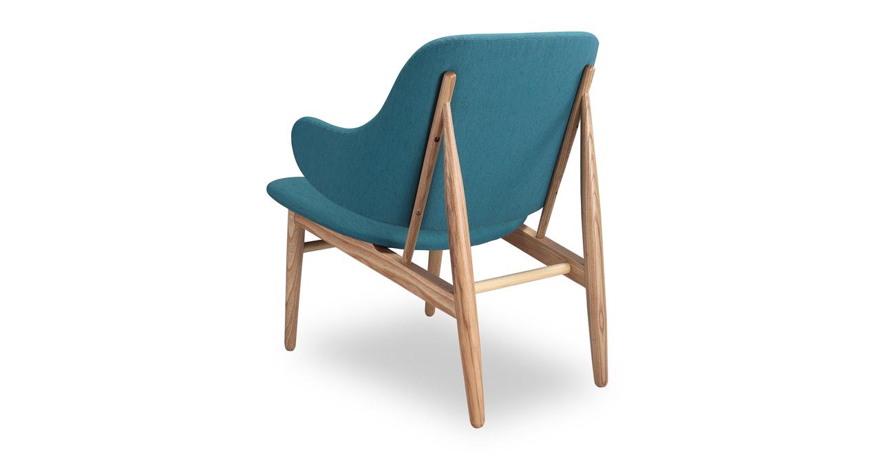 Larsen Shell Chair, Urban Surf/Ash
