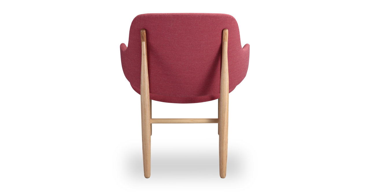 Larsen Shell Chair, Urban Coral/Ash