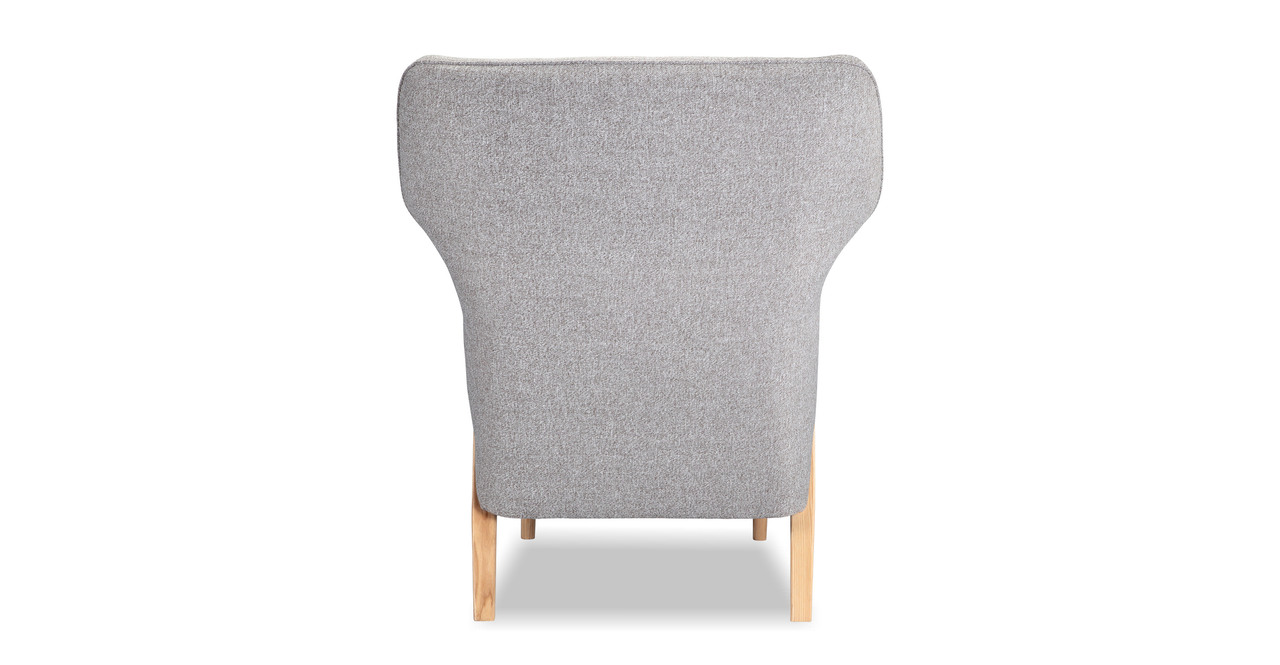 Cub Chair & Ottoman, Urban Pebble/Ash