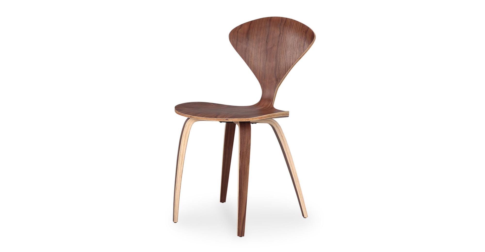 "Manta 30"" Dining Chair 2-pc Set, Walnut"