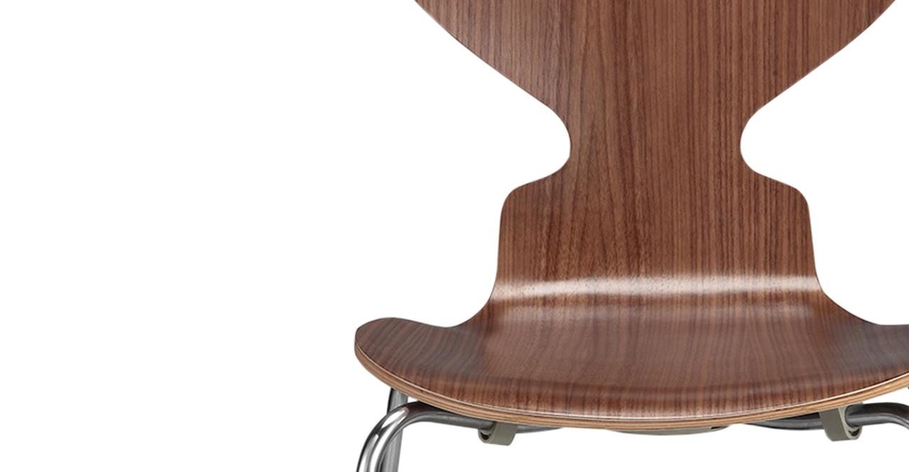 Soda Dining Chair 2 pc set Walnut