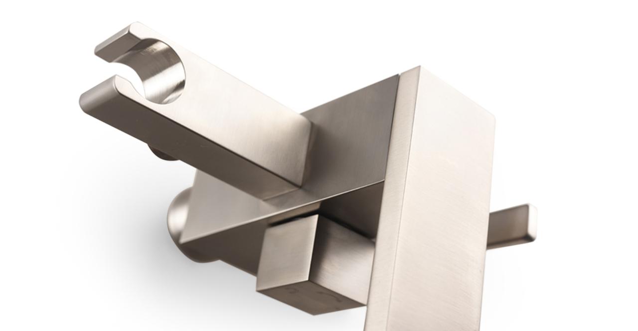 Kaieteur Tub Faucet, Brushed Nickel